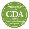 Seal: Proud Partner of the CDA and the Council for Professional Recognition